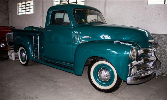 CAMINHONETE GM CHEVROLET 1954 - Leilão de carros antigos Caxias do Sul