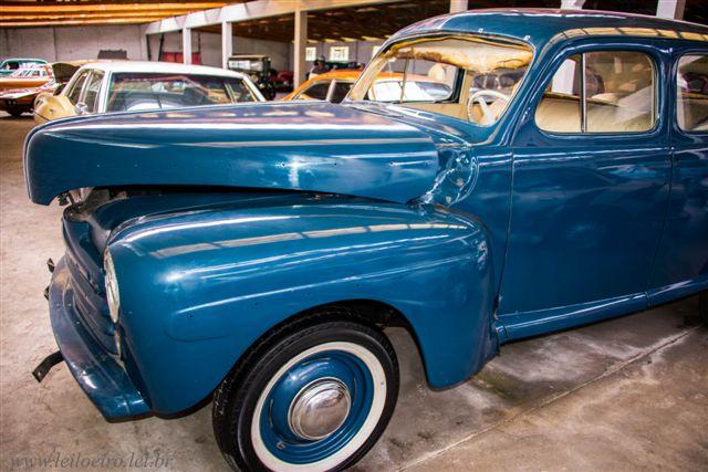 FORD 1948 azul - Leilão de carros antigos Caxias do Sul
