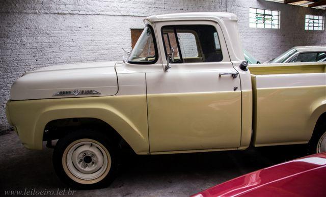 FORD F100 1966 - Leilão de carros antigos Caxias do Sul