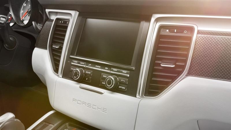 Porsche Macan painel