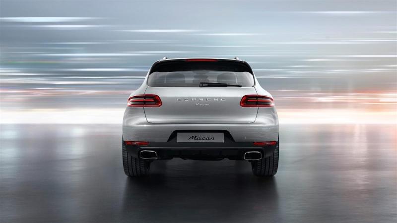 Porsche Macan traseira
