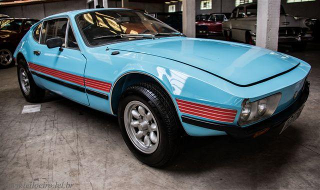VW SP-2 azul - Leilão de carros antigos Caxias do Sul
