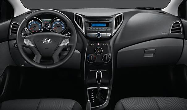 Hyundai HB20 interior
