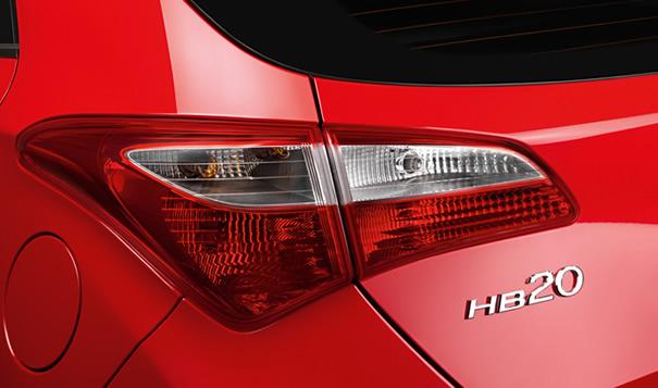 Hyundai HB20 lanterna traseira