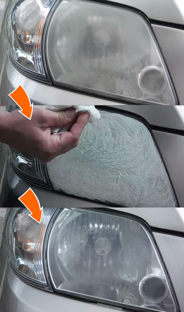 Como recuperar os faróis amarelados do carro