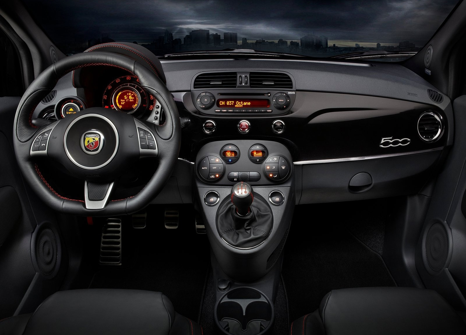 Painel Fiat Abarth