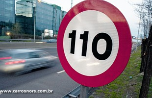 Rodovias terão limites de velocidade aumentados ainda em 2014