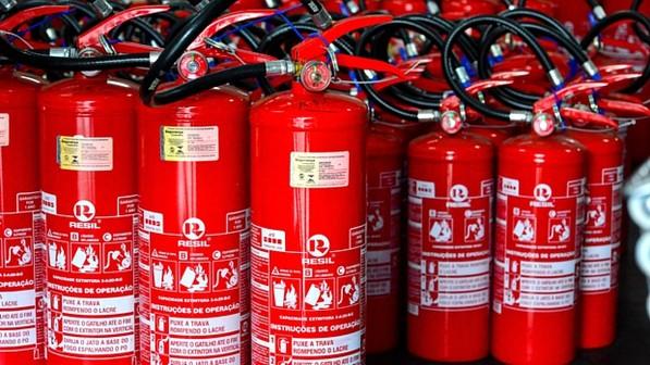 Novos extintores ABC deixaram de ser obrigatórios por mais 3 meses