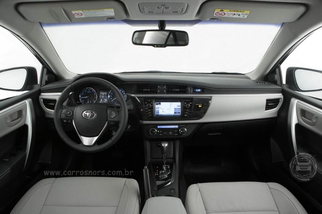Novo Corolla - 2015/2016 - Interior
