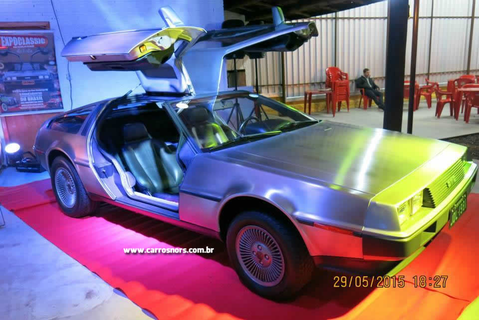 Expoclassic 2015 - DeLorean DMC