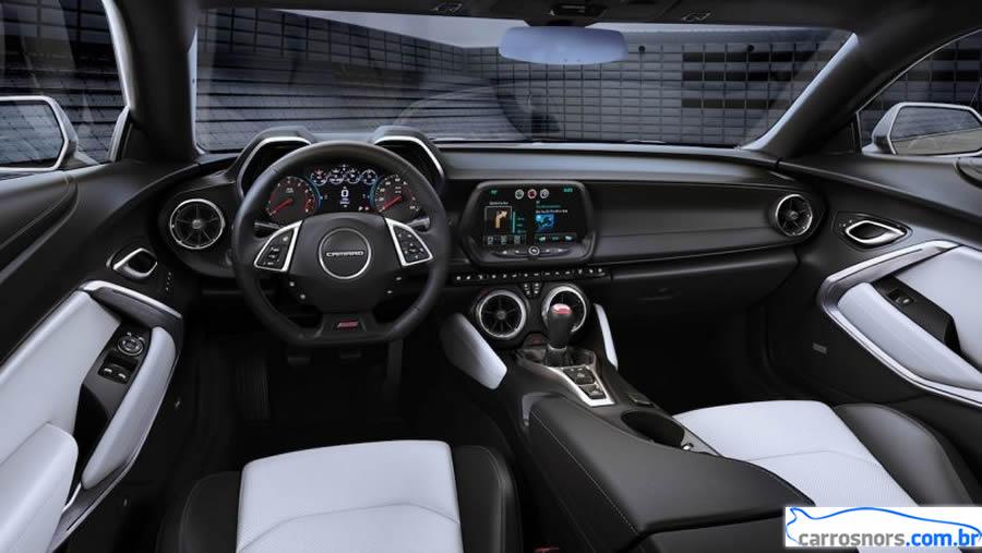 Novo Camaro 2016 Interior