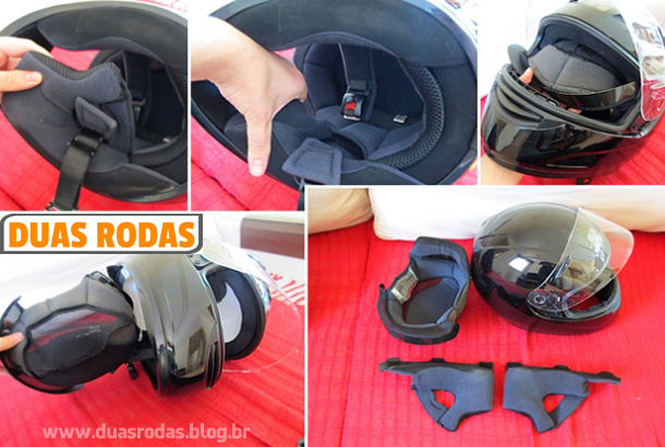 Como limpar capacete de moto