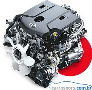 Motor nova Hilux 2016